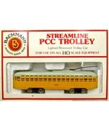 Bachmann HO scale PCC Streamline Trolley - $23.95