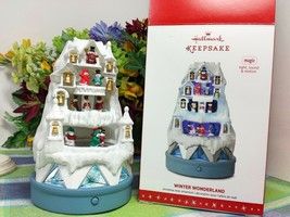 Hallmark Winter WOnderland ornament 2016 Motion Musical - $54.40