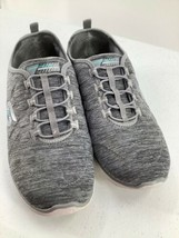 Skechers 9.5 Shoes Air Cooled Memory Foam SN23315 Grey Athletic image 2