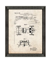 Toy Electric Automobile And Roadway Therefor Patent Print Old Look with Black Wo - $24.95+