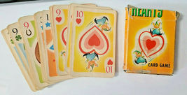 Hearts Cartoon Designed Face Deck of Playing Cards     (#32) image 3