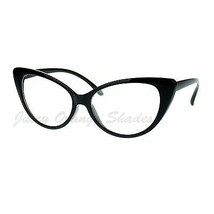 Women's Clear Lens Eyeglasses Stylish Cateye Frame Glasses - $7.95