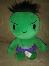 "Marvel Kids Universal Studios Incredible Hulk Plush 10"" Beanbag Stuffed... - $13.45"