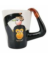 Animal Mug black monkey - $15.03