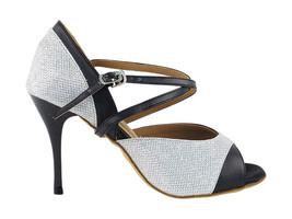 Women/'s Ballroom Salsa Latin Practice Leather Very Fine Dance Shoes CD1113