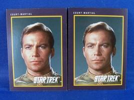 2 1991 Impel Star Trek Trading Card #29 Court-Martial - $0.98