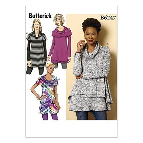 Butterick Patterns 6247 ZZ Sizes Large 16 - 18/X-Large 20 - 22/2X-Large 24 - 26  - $14.70