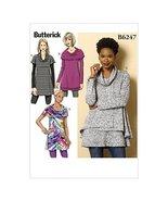 Butterick Patterns 6247 ZZ Sizes Large 16 - 18/X-Large 20 - 22/2X-Large ... - $14.70