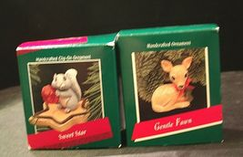 Hallmark Handcrafted Ornaments AA-191774D Collectible ( 2 pieces ) image 5