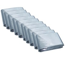 Emergency Mylar Thermal Blankets (Pack of 10), New, Free Shipping ! Large - $11.00