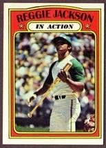 1972 Topps #436 Reggie Jackson (Hof) Ia Baseball CARD- Oakland A's! - $9.85