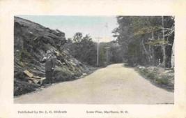 Man Drinking At Spring Lone Pine Marlboro Dr L G Hildreth New Hampshire ... - $6.93
