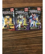 Transformers Mini Figures Limited Edition  Set Of 3 Unopened - $7.92