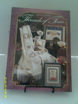 Cross Stitch  Threads Of Time Hardcover Needlecraft Shop 1998 - $5.80