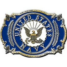 United States American Navy Logo Belt Buckle - $18.76