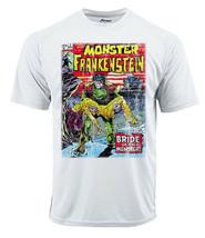Frankenstein  Dri Fit graphic T-shirt moisture wicking superhero comic Sun Shirt image 2