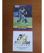 Hand Signed Autograph 1990 Pro Set Herschel Walker card # 197 COA - $14.85