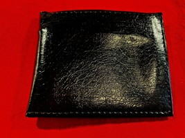 Mens Casual Black Bi fold Wallet  - $4.50