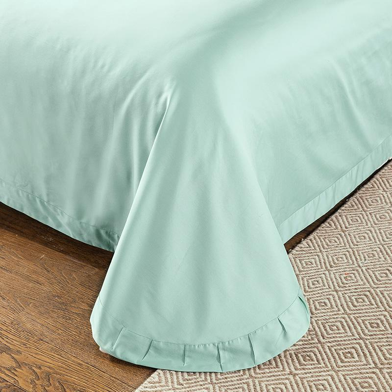 4-Piece IvaRose Luxury Egyptian Cotton Bed Sheets Comforter Cover Set