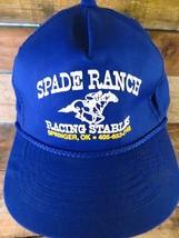 SPADE RANCH Racing Stable Springer OK Snapback Adjustable Adult Hat Cap  - $22.76