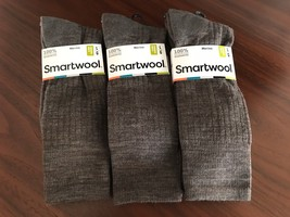 3X Smartwool Men's New Classic Rib Socks Taupe Large New - $48.93