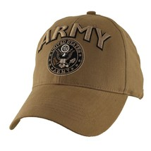U.S. ARMY WITH ARMY SEAL INSIGNIA-Officially Licensed Military Baseball ... - $23.95