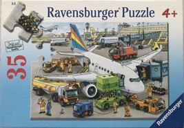 """Ravensburger Puzzle 35  """"BUSY AIRPORT"""" (Brand New) - $7.91"""