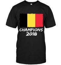 Belgium Champions 2018 Football Jersey Soccer Shirt Belgian - $17.99+