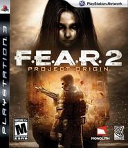 F.E.A.R 2 Project Origin Ps3 Fear - $39.49