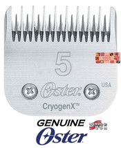 Oster Cryogen-X # 5 Skip Blade Fit A5 A6,Many Andis,Wahl Clipper Pet Grooming - $39.64