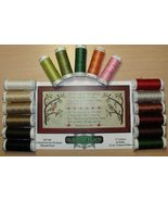 THREAD PACK Sulky Threads (17 colors) Overheard In An Orchard cross stitch  - $30.00