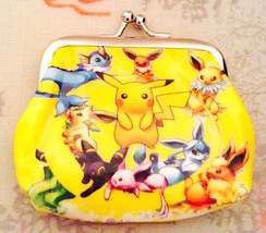 So Cute! Pokemon Pikachu Coin Purse— More Fun Character Coin Purses Avai... - $5.00