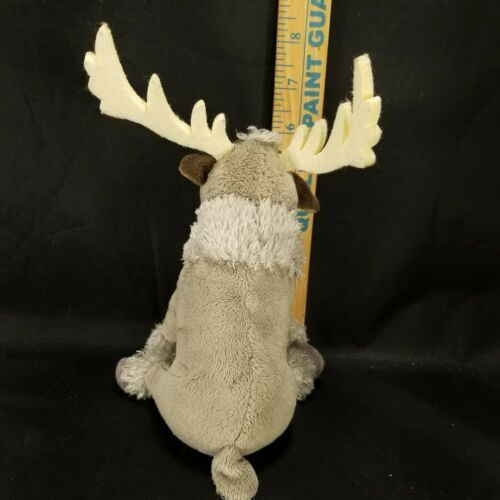 "Disney Plush Frozen Sven Reindeer Moose stuffed animal 7"" Ty Sparkle image 4"