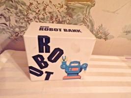 Vintage 1985 AVON Robot Bank in original box - $14.85
