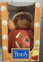 Winnie The Pooh Animated Halloween Display Figure Vintage 90s Disney NIB - $47.29