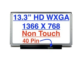 "ThindPad X1 1293 Series 13.3"" HD Slim LED LCD Screen 1366 x 768 - $69.27"