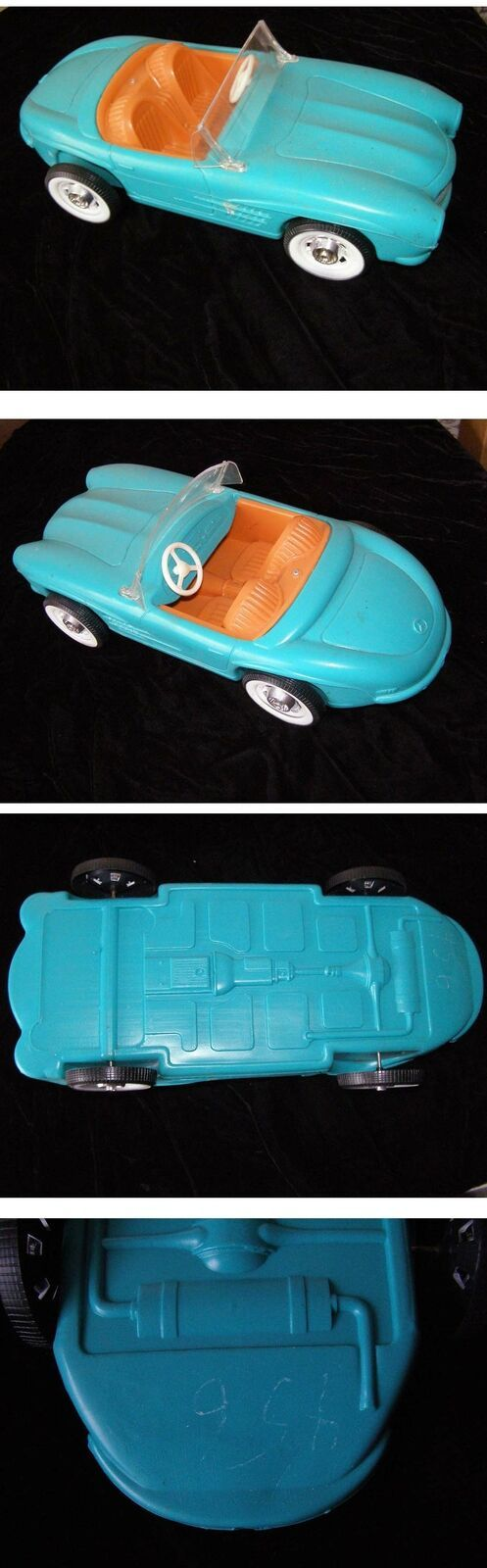 Primary image for Irwin Barbie Convertible Toy Car 1960s Mercedes