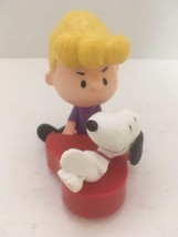 McDonald's Peanuts Snoopy Schroeder' Plastic Toy Figurine Collectible - $12.99