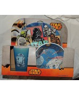 NEW Star Wars Baby Toddler Kid Dish Plate Bowl Cup Feeding Darth Vader R2D2 - $11.87