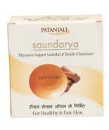 PATANJALI SAUNDARYA MYSORE SUPER SANDAL BODY CLEANSER SOAP BAR - 75 GM - $10.99+