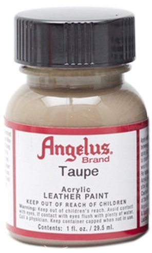 Angelus Brand Acrylic Leather Paint Water Resistant 1 oz - Select Your Color (#1