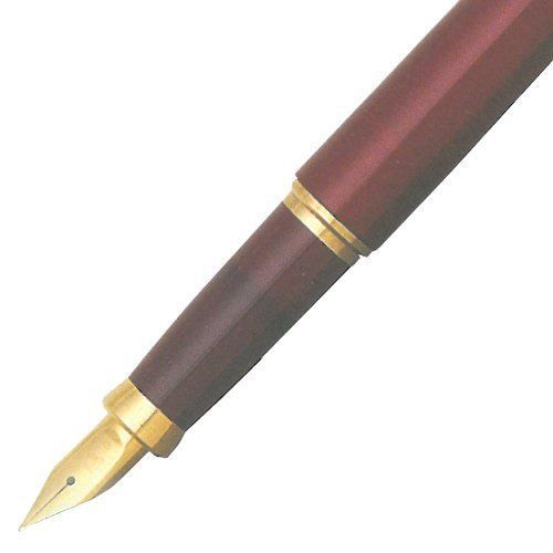 PLATINUM Fountain Pen Balance PGB-3000 #71 Wine Red nib=fine