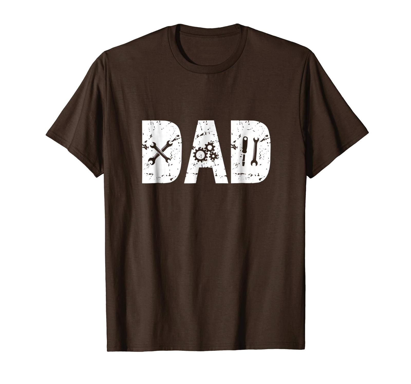 Dad Shirts - Funny Dad Gift Mechanic Shirts for Men Fathers Day 2018 Tee Men image 3