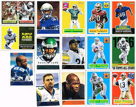 2001 Topps Assorted Football Trading Collector Card 3 Rookie Cards Lot of 15 - $12.22
