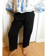 EILEEN FISHER Women's Black  Ankle  Pants Size Medium NWT  - $59.39