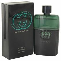 Gucci Guilty Black by Gucci Eau De Toilette Spray 3 oz for Men - $80.11