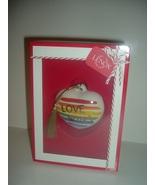 Lenox Love Wins Ornament in box - $24.99