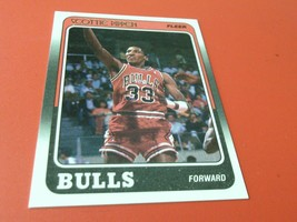 1988 /89  SCOTTIE  PIPPEN  ROOKIE  FLEER  BULLS  BASKETBALL # 20   MINT ... - $39.99