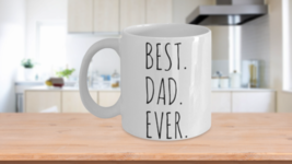 Best Dad Ever Mug Gift For Him Valentine Birthday Fathers Day Thank You ... - $14.65+
