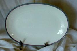 """Pfaltzgraff 2012 Juniper Oval Deep Platter 13"""" - $9.69"""